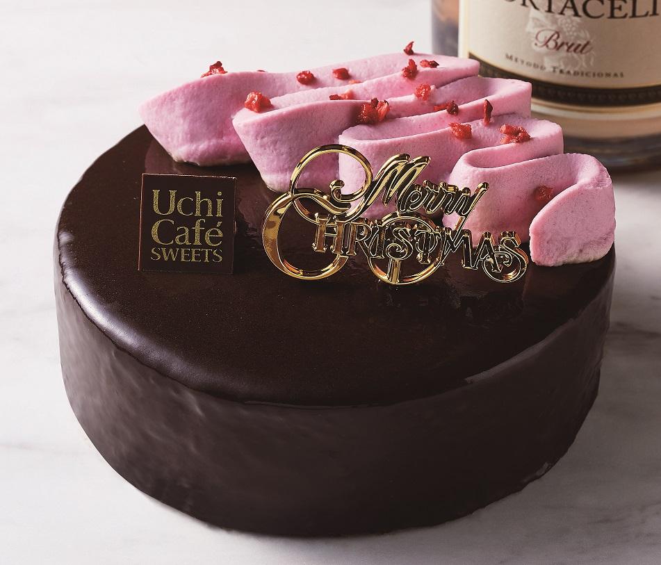 ローソンでは、秋から冬にかけて、この「ルビーチョコレート」を使用した見た目も味わいも新鮮なスイーツを発売いたします。 (写真:12月に発売予定の クリスマス