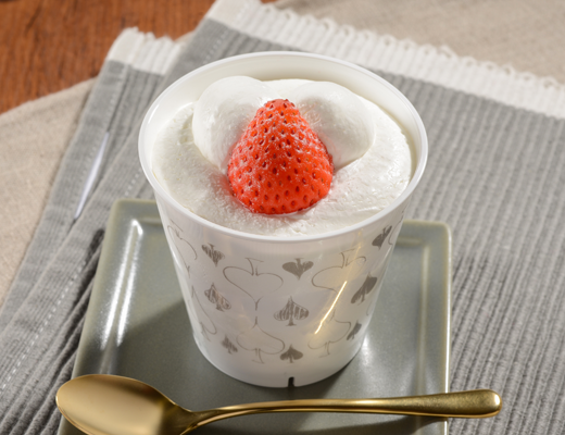 Image of とろけるクリームの苺ショート