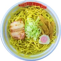 レンジ醤油ラーメン200